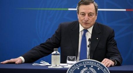 Οι Ιταλοί εγκρίνουν τη στάση του Ντράγκι προς τον Ερντογάν