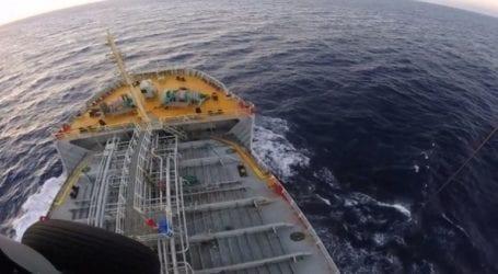 Σύγκρουση δεξαμενόπλοιου με αλιευτικό στο Στενό Καφηρέα