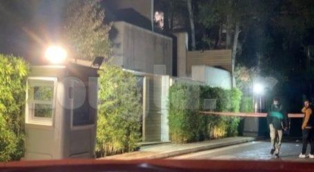 Έκρηξη έξω από το σπίτι του Μένιου Φουρθιώτη