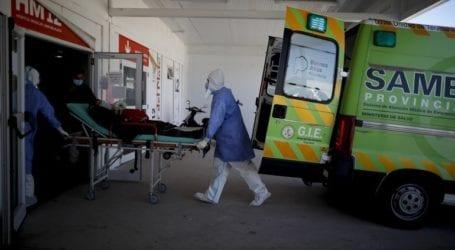 537 θάνατοι το τελευταίο 24ωρο στην Αργεντινή
