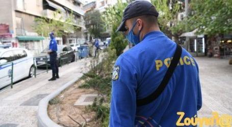 Νέα επιχείρηση της ΕΛΑΣ στην πλατεία Αγίου Γεωργίου, στην Κυψέλη, για την αποφυγή συγκεντρώσεων