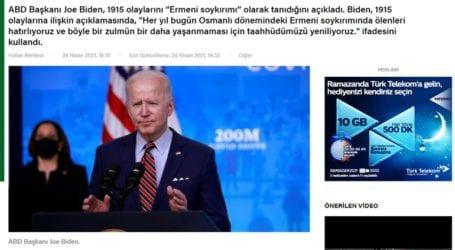 Οργισμένες αντιδράσεις του τουρκικού Τύπου για την αναγνώριση της Γενοκτονίας των Αρμενίων