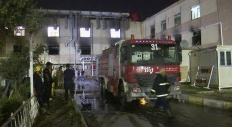 Τους 58 έφτασαν οι νεκροί από την πυρκαγιά που ξέσπασε σε νοσοκομείο στο Ιράκ