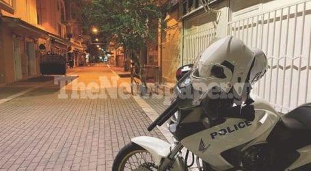 Μπλόκο της Αστυνομίας στα κορωνοπάρτι του Βόλου