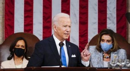 Πρώτη ομιλία Μπάιντεν στην ολομέλεια του Κογκρέσου