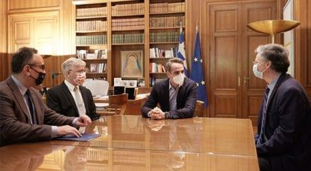 Κ. Μητσοτάκης: Συνάντηση με τον Ισραηλινό καθηγητή Ναντίρ Αρμπέρ