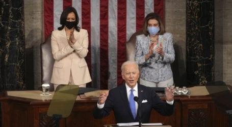 Σχεδόν 11,6 εκατ. Αμερικανοί παρακολούθησαν την ομιλία Μπάιντεν στο Κογκρέσο