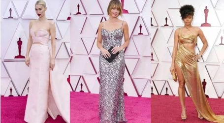 Oscar 2021: Οι εντυπωσιακές εμφανίσεις στο κόκκινο χαλί
