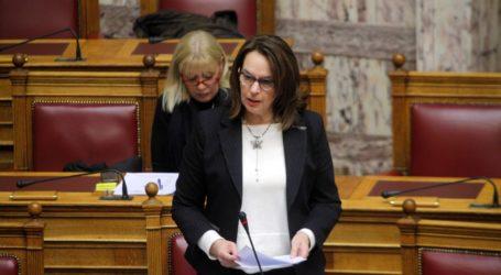 Κ.Παπανάτσιου: Να επανεξεταστεί ο δυσβάσταχτος φόρος που επέβαλε η Κυβέρνηση στους ιδιοκτήτες μικρών σκαφών