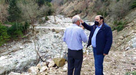 Χρ. Τριαντόπουλος: Σε Καρδίτσα και Οξυά για την παρακολούθηση των έργων αποκατάστασης των ζημιών του «Ιανού»