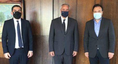 Στον Υπουργό Εσωτερικών ο Δήμαρχος Σκιάθου – Όλα όσα συζήτησαν