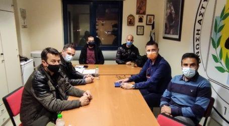 Βόλος: Με Σώματα Ασφαλείας συναντήθηκε το ΔΣ του Σωμ. Οικογενειών Ενόπλων Δυνάμεων