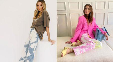 Tie dye jeans: Πώς να συνδυάσετε την κορυφαία τάση της σεζόν