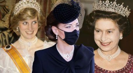 Η κομψή εμφάνιση της Kate Middleton στην κηδεία του Φιλίππου και το κολιέ προς τιμήν της βασίλισσας