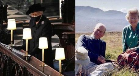 Βασίλισσα Ελισάβετ: Τα αναμνηστικά που είχε μαζί της στην κηδεία του πρίγκιπα Φιλίππου