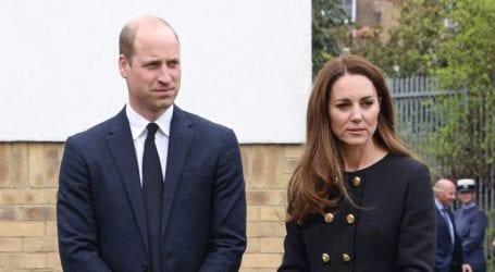 H πρώτη εμφάνιση της Kate Middleton μετά την κηδεία του πρίγκιπα Φίλιππου