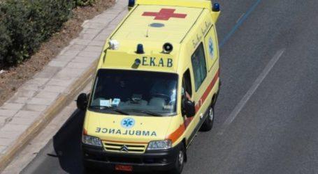 Τροχαίο ατύχημα στον Βόλο – Ένας τραυματίας