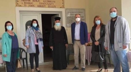 """Επίσκεψη της Δ.Ε.Ε.Π. Λάρισας στο Κέντρο Φροντίδας Ηλικιωμένων """"Παναγία Αρμενιώτισσα"""""""
