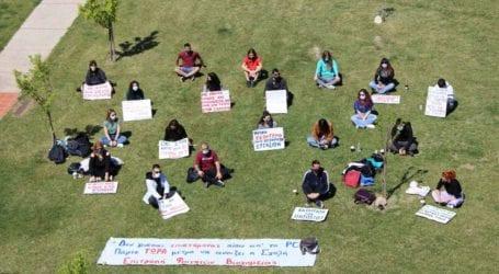 Διαμαρτυρία Επιτροπής Φοιτητών Βιοχημείας: «Θέλουμε να γίνουμε ξανά φοιτητές!»