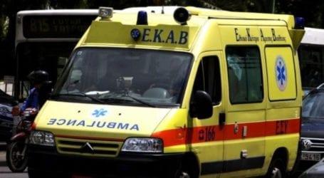 Λάρισα: Στο νοσοκομείο 20χρονος, μετά από πτώση στο μπάνιο