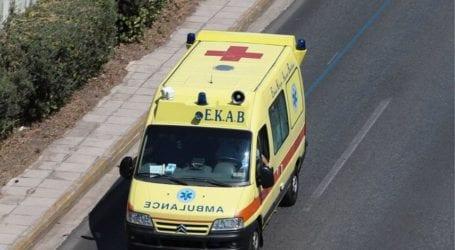 Τροχαίο ατύχημα στον Βόλο – Δύο τραυματίες