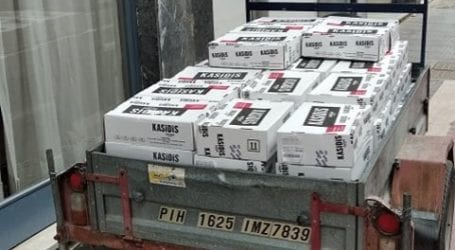 Οι Ενεργοί Πολίτες Λάρισας μοίρασαν τρόφιμαγια το Πασχαλινό τραπέζι άπορων οικογενειών