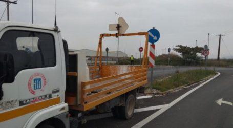 Νέο έργο ύψους 1 εκατ. ευρώ για την ενίσχυση της οδικής ασφάλειας στο δίκτυο της Π.Ε. Λάρισας από την Περιφέρεια Θεσσαλίας