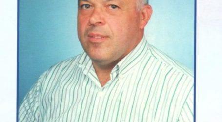 Συλλυπητήριο μήνυμα του δημάρχου Τεμπών για τον θάνατο του Νίκου Γκουντή