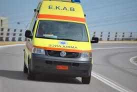 ΤΩΡΑ: Τροχαίο ατύχημα με μοτοσυκλετιστή στην Αγριά Βόλου