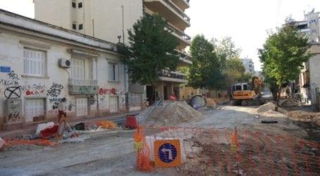 Παράταση κυκλοφοριακών ρυθμίσεων στην οδό Ιουστινιανού στη Λάρισα