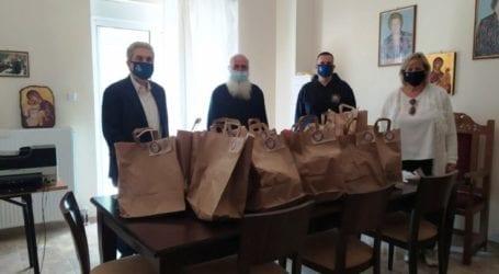 """Προσφορά πασχαλινών δώρων στο γηροκομείο ΄΄Παναγιά Αρμενιώτισσα"""" από την Διεθνή Ένωση Αστυνομικών"""