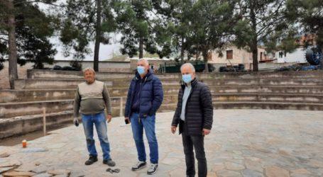 Προχωρούν οι εργασίες συντήρησης στο Δήμο Τεμπών