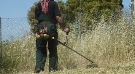 Καθαρισμός οικοπεδικών εκτάσεων και λοιπών ακάλυπτων χώρων στην Ελασσόνα
