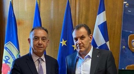 Παναγιωτόπουλος σε Κέλλα: Εργασίες αποκατάστασης και νέο υπόστεγο για το 303 ΠΕΒ