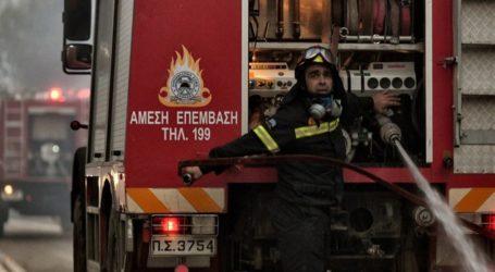 Κατασβέστηκε η φωτιά στη Συκή