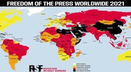 Καθίζηση της ελευθερίας του Τύπου στην Ελλάδα