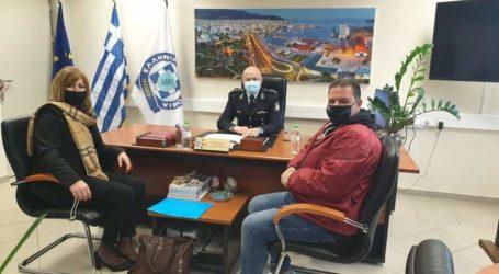 Στον αστυνομικό διευθυντή Μαγνησίας η Νατάσα Μορφογιάννη