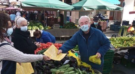 Στη λαϊκή αγορά της Δευτέρας κλιμάκιο του ΣΥΡΙΖΑ ΠΣ Λάρισας