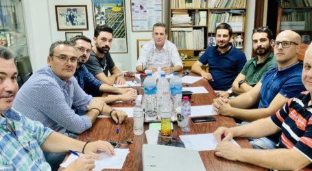 Συνάντηση προέδρου Γεωπονικού Συλλόγου Λάρισας κ. Γιαννακού με τον Υφυπουργό Αγροτικής Ανάπτυξης & Τροφίμων