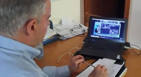 Στην τηλεδιάσκεψη της ΚΕΔΕ συμμετείχε ο Γ. Μανώλης