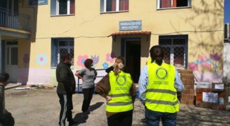 Ανθρωπιστική βοήθεια στα πληγέντα χωριά του ν. Λάρισας από Ροταριανούς Ομίλους