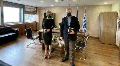 Χαρακόπουλος με Γ.Γ. Προστασίας Πολίτη: Έρχεται προκήρυξη για προσλήψεις στις φυλακές Λάρισας