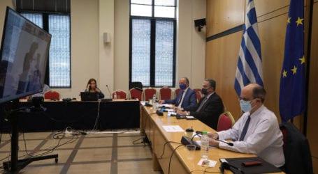 Συμμετοχή του Αθ. Λιούπη στην τηλεδιάσκεψη των Κοινοβουλευτικών Ομάδων Φιλίας Ελλάδας-Εσθονίας