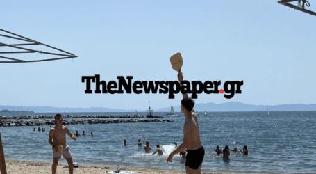 Για μπάνιο στις κοντινές ακτές οι Βολιώτες – Μύρισε καλοκαίρι [εικόνες]