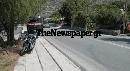Τροχαίο ατύχημα στην Αγριά – Ένας τραυματίας από τη σύγκρουση ΙΧ με μοτοσυκλέτα [εικόνες]