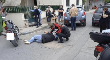 Τροχαίο ατύχημα στον Βόλο – Τραυματίστηκε μοτοσυκλετιστής [εικόνες]