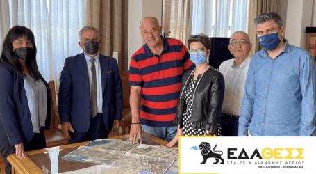 Μεγάλες επενδύσεις της ΕΔΑ ΘΕΣΣ ύψους 10 εκ.€ στον Δήμο Βόλου