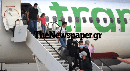 «Ποδαρικό» στο αεροδρόμιο Νέας Αγχιάλου έκαναν 189 Γάλλοι – Που κατευθύνθηκαν [εικόνες]