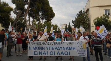 Μηχανοκίνητη πορεία στο Στεφανοβίκειο ενάντια στους σχεδιασμούς του ΝΑΤΟ