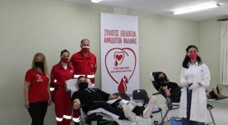 """Σύλλογος Εθελοντών Αιμοδοτών Φαλάνης: """"Οι καρδιές χτύπησαν δυνατά για το συνάνθρωπό μας"""""""
